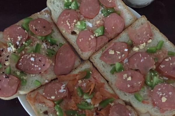 吐司披萨的做法