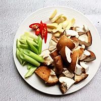 香菇滑鸡,让你远离油烟的美味蒸菜的做法图解5