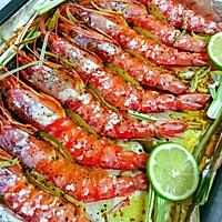 黑椒青柠烤虾#跨界烤箱探索未来#