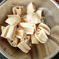 生地莲藕瘦肉汤的做法图解5