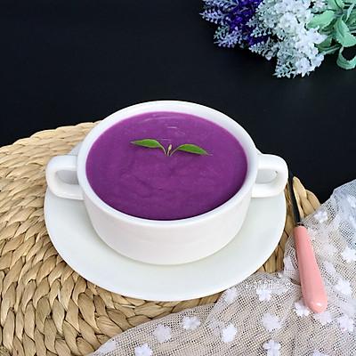 紫薯椰奶~就爱那抹无可替代的紫色