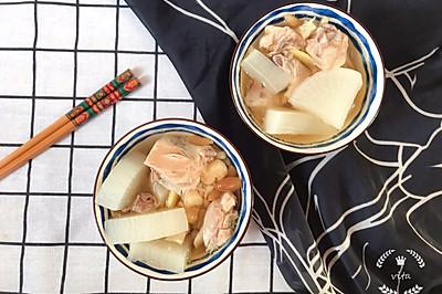 沙參麥冬蘿卜燉土雞-提高免疫力