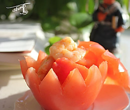 西红柿炒虾仁的做法