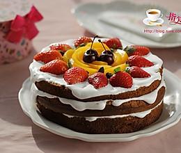 水果裸蛋糕#松下烘焙魔法学院#的做法