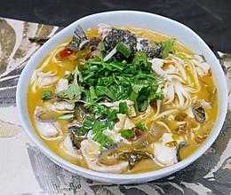 #我们约饭吧#家庭版酸菜鱼的做法