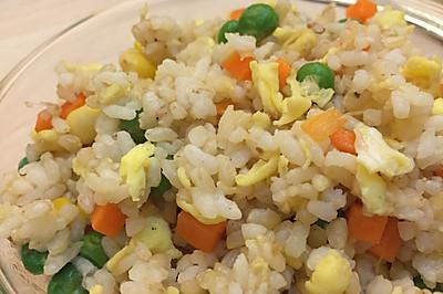 10分钟营养减脂餐之糙米什锦炒饭
