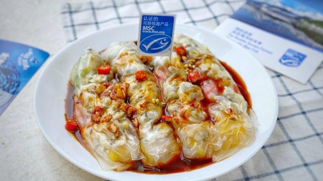 #鲜到鲜得,月满中秋,沉鱼落宴#蛤蜊米卷的做法