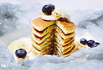 快手早餐香蕉松饼的做法