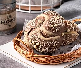 烘焙界的最完美组合,醇香浓郁可可面包的做法