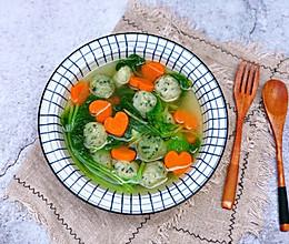#洗手作羹汤#青菜鱼丸汤的做法