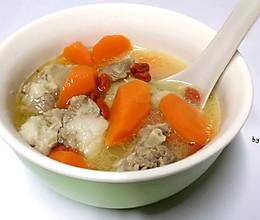 暖冬羊肉汤#大喜大牛肉粉试用#的做法