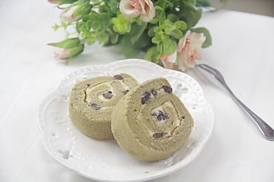 适合聚餐的甜点——抹茶蛋糕卷