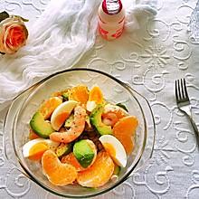#夏日消暑,非它莫属#清爽香橙牛油果沙拉
