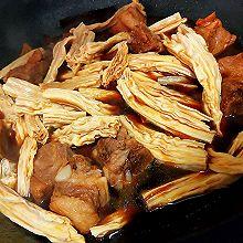 香鲜红烧腐竹炖排骨