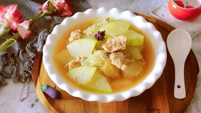 #少盐饮食 轻松生活#瘦肉冬瓜汤的做法
