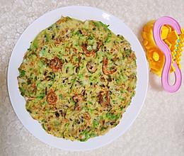快手早餐:角瓜鸡蛋饼的做法