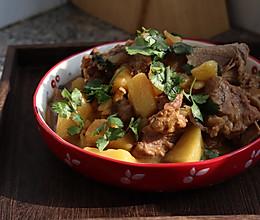 #好吃不上火# 排骨炖土豆的做法
