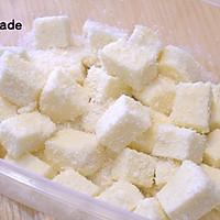 【视频】85度c 椰蓉牛奶小方~不用烤箱的夏日甜点的做法图解10