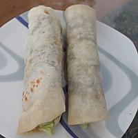 鸡肉卷(附墨西哥饼的做法)#急速早餐#的做法图解10