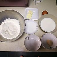 【面包机版】兔兔热狗面包的做法图解1