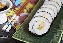 鳗鱼寿司——轻松6步在家完成基础寿司卷的做法