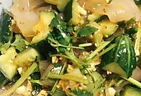 黄瓜大拉皮凉菜的做法