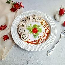 芝士鸡肉卷#肉食者联盟#