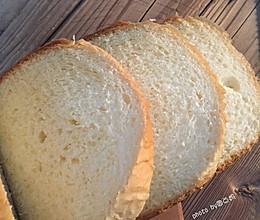 #面包机版#原味吐司的做法