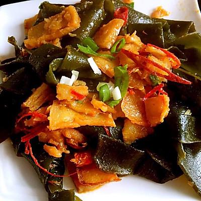 海带炒土豆片