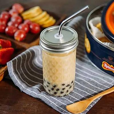 自制珍珠奶茶|日食记