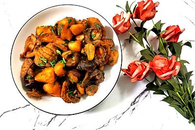 香菇鲍鱼炖土豆
