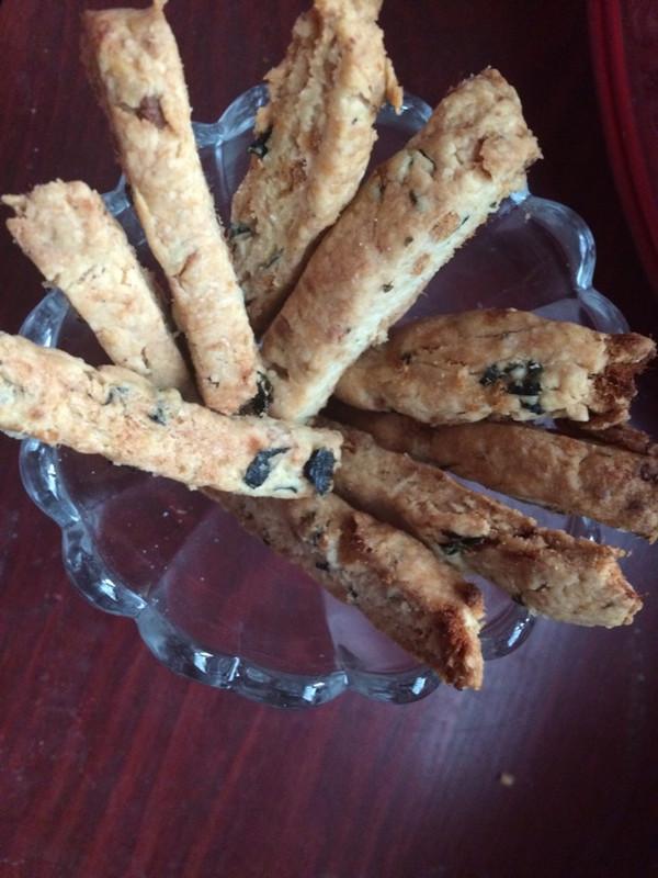 海苔肉松饼干(君之配方)的做法