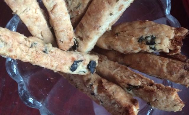 海苔肉松饼干(君之配方)