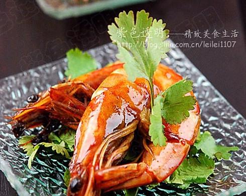 泰式橄榄油甜辣吮指虾