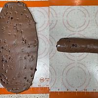 奶油巧克力吐司(中种法)的做法图解5