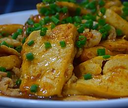 豆腐焖肉的做法