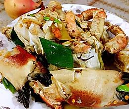 香辣面包蟹的做法