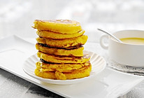 #换着花样吃早餐#玉米面发面饼的做法
