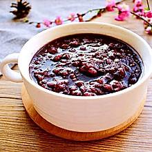 紫薯黑米粥#发现粗粮之美#