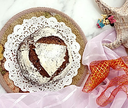 #以美食的名义说爱她# 红酒蔓越莓玫瑰面包的做法