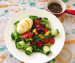 #餐桌上的春日限定#蔬菜沙拉的做法