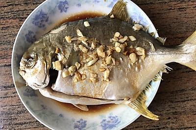 清蒸金仓鱼