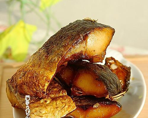 #菁选酱油试用之煎鱼块的做法