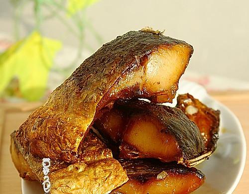 #菁选酱油试用之煎鱼块