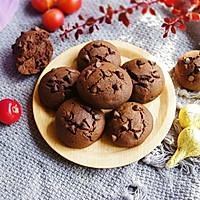 巧克力曲奇饼干#快手又营养,我家的冬日必备菜品#的做法图解11
