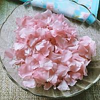 盐渍樱花、樱叶&樱花酱的做法图解3