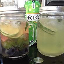 夏季冰饮两款(排毒水+莫吉托)