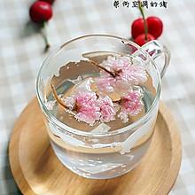 樱花苏打水#七彩七夕#