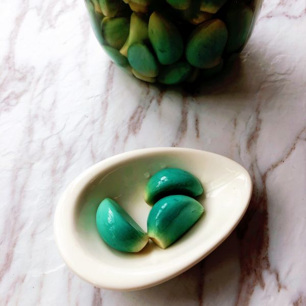 超简单的腊八蒜——七天绿的做法