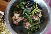 海带鸡肉汤的做法